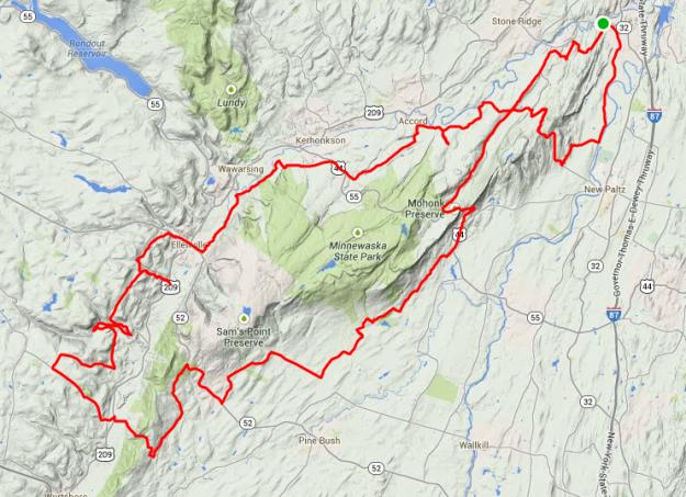 93.1 miles, 10066 feet of climbing.