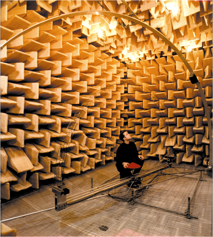 measuring_a_diffuser_in_an_anechoic_chamber